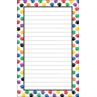 TCR5087 Colorful Paw Prints Notepad