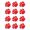 TCR5119 Red Paw Prints Mini Accents