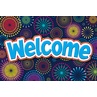 TCR5460 Fireworks Welcome Postcards