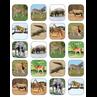 TCR5468 Safari Animals Stickers