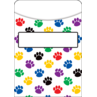 TCR5550 Paw Prints Library Pockets