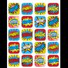 TCR5570 Superhero Stickers