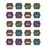 TCR5618 Chalkboard Brights Stickers