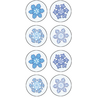 TCR5770 Winter Mini Stickers