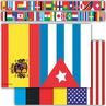 TCR60595 International Flags Straight Border Trim