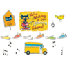 TCR62383 Pete the Cat We're Rocking in Our Learning Shoes Bulletn Brd