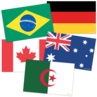 TCR63238 International Flags Accents