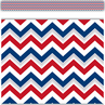 TCR63274 Patriotic Chevron Straight Border Trim