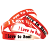 TCR6566 Fancy I Love to Read Wristbands