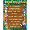 TCR7523 Ranger Rick's Rules Chart