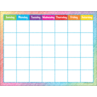 TCR7525 Colorful Scribble Calendar Chart