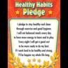 TCR7791 Healthy Habits Pledge Chart