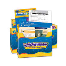 Reading Comprehension & Writing Response Kit All Grades