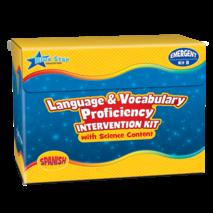 Language & Vocabulary Proficiency Intervention Kit B Spanish