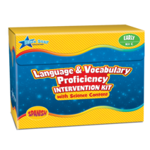Language & Vocabulary Proficiency Intervention Kit C Spanish