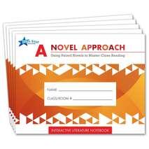 A Novel Approach: Student Literature Notebook Add-On Pack Grades 4-5