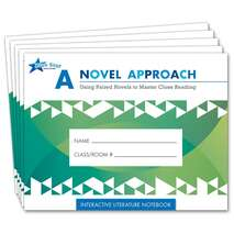 A Novel Approach: Student Literature Notebook Add-On Pack Grades 5-6