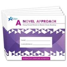 A Novel Approach: Student Literature Notebook Add-On Pack Grades 6-7