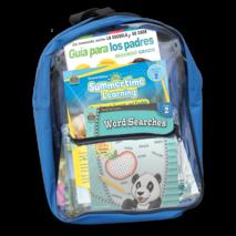 Preparing For Second Grade Spanish Backpack