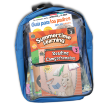 Preparing For Third Grade Spanish Backpack