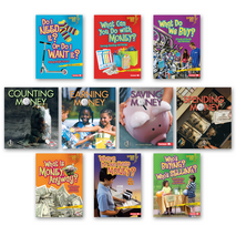 Financial Literacy Levels E-M Classroom Library (10 titles)