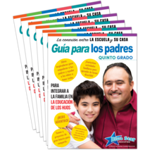Connecting Home & School Parent Guide Grade 5 6-Pack: Spanish