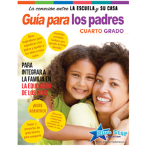 Connecting Home & School: A Parent's Spanish Guide Gr 4