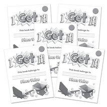 I Get It! Place Value Grades K-2 Student Book-Foundational 5-Pack