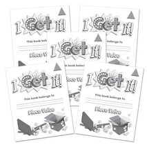 I Get It! Place Value Grades K-2 Student Book-Level 1 5-Pack