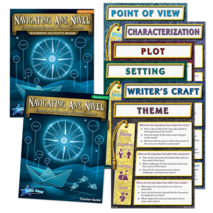 Navigating Any Novel Kit Gr 3-5