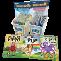 Animal Antics Short Vowel Phonics Kit A
