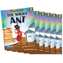 The Wacky Ant - Short Vowel a Reader - 6 Pack