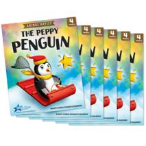 The Peppy Penguin - Short Vowel e Reader - 6 Pack
