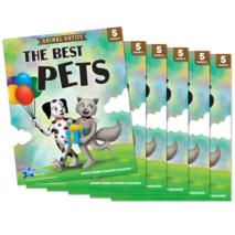 The Best Pets - Short Vowel e Reader - 6 Pack