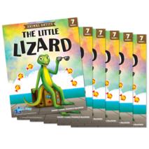 The Little Lizard - Short Vowel i Reader - 6 Pack