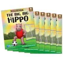 The Big, Big Hippo - Short Vowel i Reader - 6 Pack