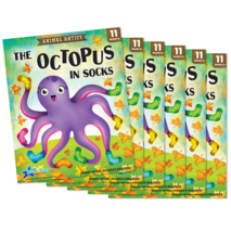 The Octopus in Socks - Short Vowel o Reader - 6 Pack