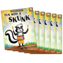 Fun with a Skunk - Short Vowel u Reader - 6 Pack