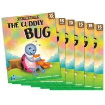 The Cuddly Bug - Short Vowel u Reader - 6 Pack