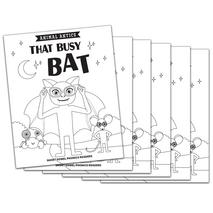 That Busy Bat - Short a Vowel Reader (B/W version) - 6 Pack