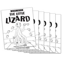 The Little Lizard - Short i Vowel Reader (B/W version) - 6 Pack