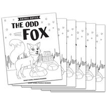 The Odd Fox - Short o Vowel Reader (B/W version) - 6 Pack