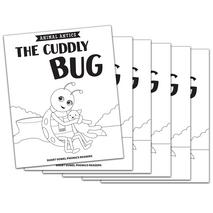 The Cuddly Bug - Short u Vowel Reader (B/W version) - 6 Pack