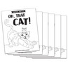 Oh, That Cat! - Short a Vowel Reader (B/W version) - 6 pack