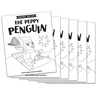 The Peppy Penguin - Short e Vowel Reader (B/W version) - 6 Pack