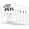 The Best Pets - Short e Vowel Reader (B/W version) - 6 Pack