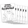 The Messy Elephant - Short e Vowel Reader (B/W version) - 6 Pack
