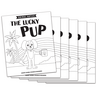 The Lucky Pup - Short u Vowel Reader (B/W version) - 6 Pack