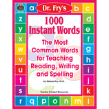 1000 Instant Words by Dr. Fry