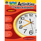 101 Activities For Fast Finishers Grade 2